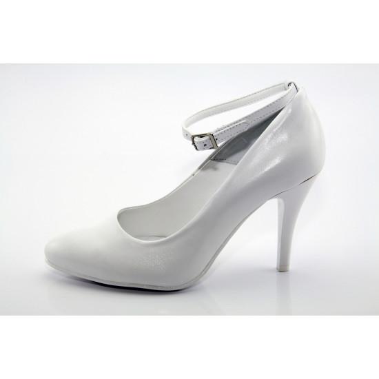 Fehér esküvői menyasszonyi cipő Fhia