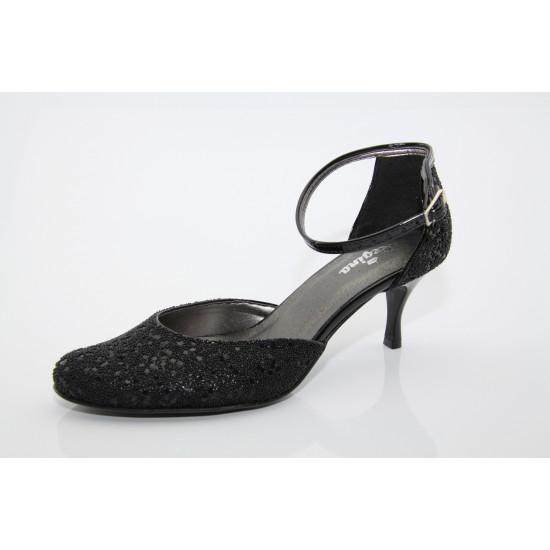 Irene  fekete alkalmi cipő