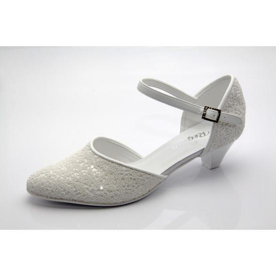Fehér menyasszonyi cipő Cheryl