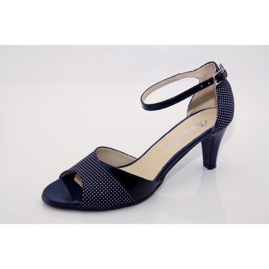 Örömanya cipő kék pöttyös Dolly