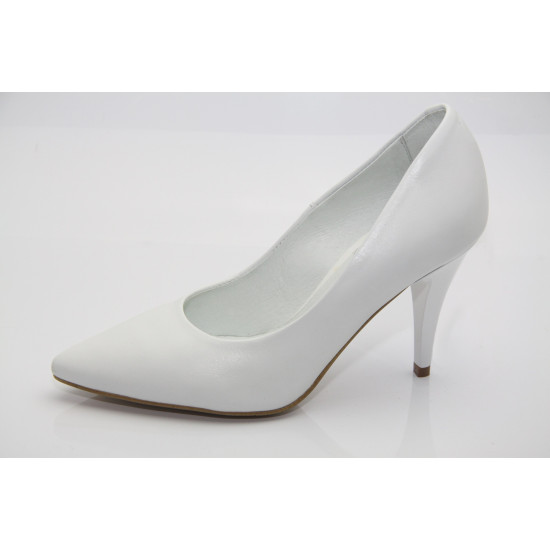 Fehér kisméretű menyasszonyi cipő Elena