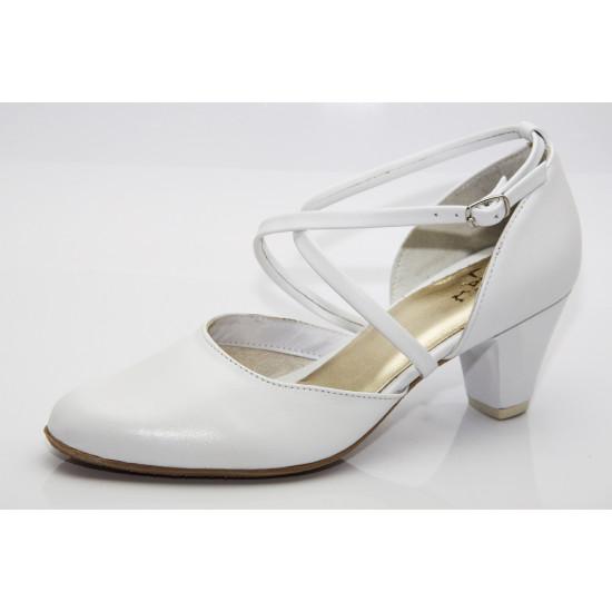 Esküvői cipő fehér Lady Art2
