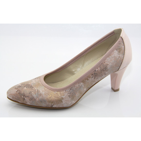 Puder színű örömanya cipő Adriane