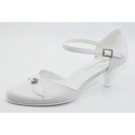 Menyasszonyi esküvői fehér cipő  Hana